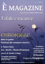 È Magazine 4 - Lavoro di redazione, editing, articolista, promozione e ufficio stampa