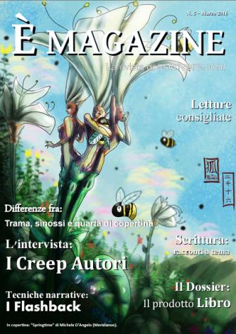 È Magazine 5 - Lavoro di redazione, editing, articolista, promozione e ufficio stampa